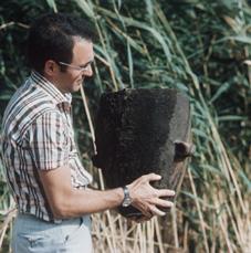 Romualdo Luzi, studioso di storia e archeologia, all'epoca responsabile dei servizi culturali del Comune di Valentano, collaborò attivamente con i recuperi