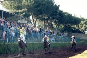 La dernière course de la réunion hippique du 19 mai 2002, vainqueur le cheval WOODLIKE