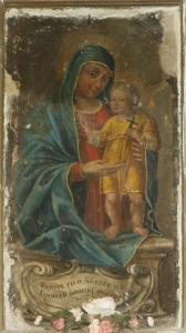 L'affresco della Madonna SS. della Pietà