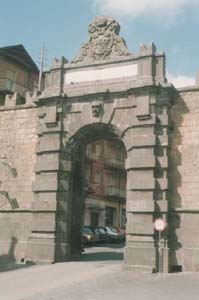 Porta Magenta, già Porta Romana