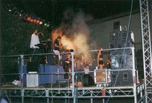 Le spectacle musical le soir de la fête