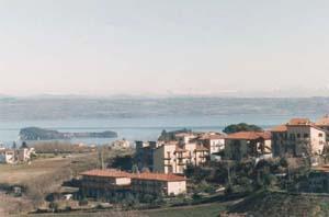 Il lago di Bolsena - L'isola Bisentina